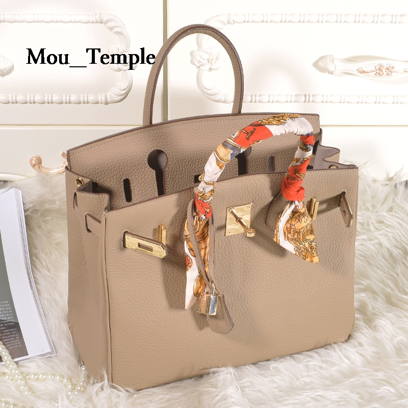 Luxury Famous brand First Layer Cowhide Bag Designer Handbags High Quality Ladies Genuine Leather Tote bags for Women 30cm free shipping uhf professional s24 b 58 wireless microphone cordless karaoke system with handheld transmitter band r5 800 820mhz