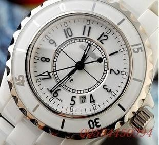 Ceramic movement glass lovers unisex casual fashion watches small