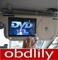 2016 El Más Nuevo automóvil car sun visor monitor de dvd y vídeo sd y usb de GPS y cualquier medio envío libre
