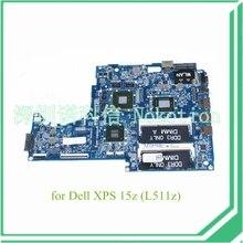 DASS8BMBAE1 REV E CN-0H9FHV For DELL XPS 15Z L511Z laptop motherboard SR04G I5-2410M DDR3 GeForce GT525M