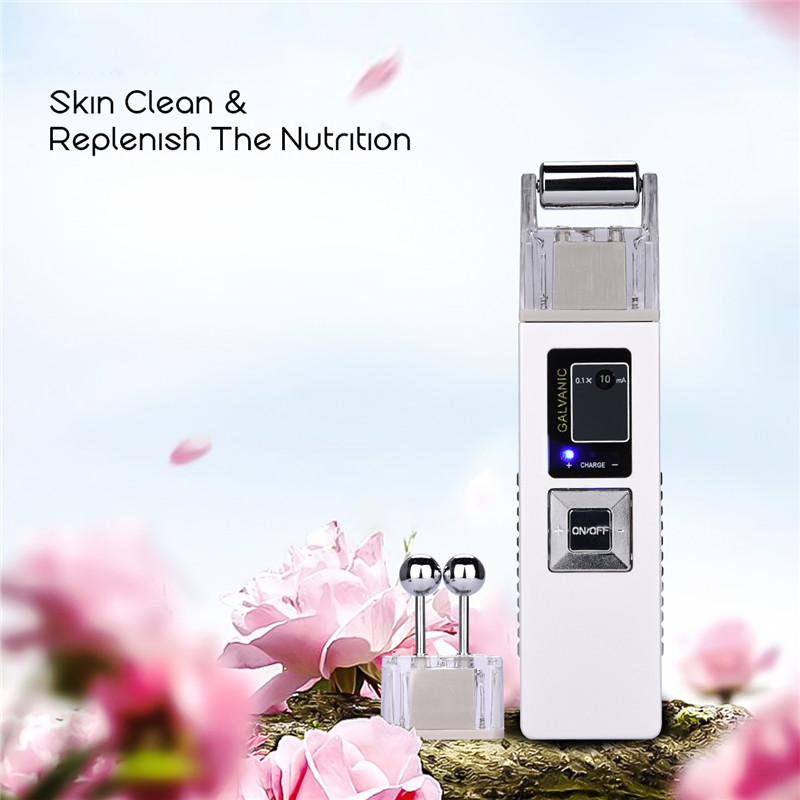 100-240V Galvanic Microcurrent Facial Massager Skin Whitening Machine Facial Deep Cleaning Anti-aging Remove Blackhead Tool100-240V Galvanic Microcurrent Facial Massager Skin Whitening Machine Facial Deep Cleaning Anti-aging Remove Blackhead Tool