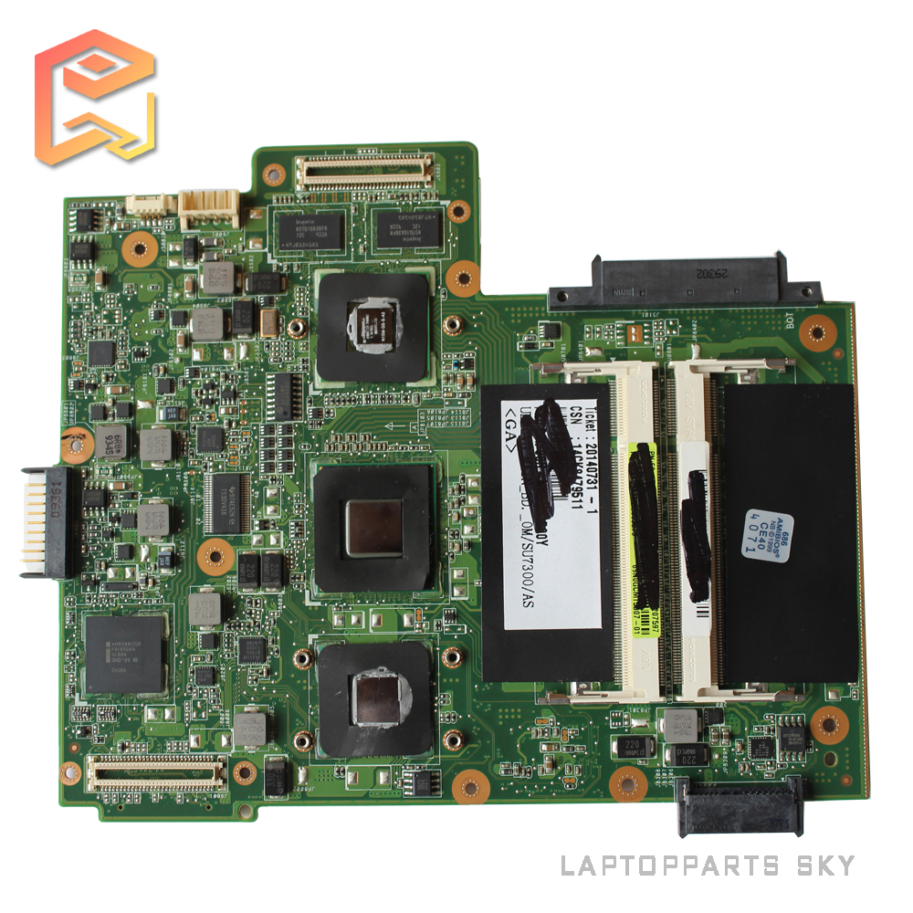 For ASUS UL50VG laptop Motherboard REV 2.1 Integrated onboard CPU mainboard Fully Tested g41 motherboard fully integrated core 775 cpu ddr3 ram belt 4 vxd ide usb 100% tested perfect quality