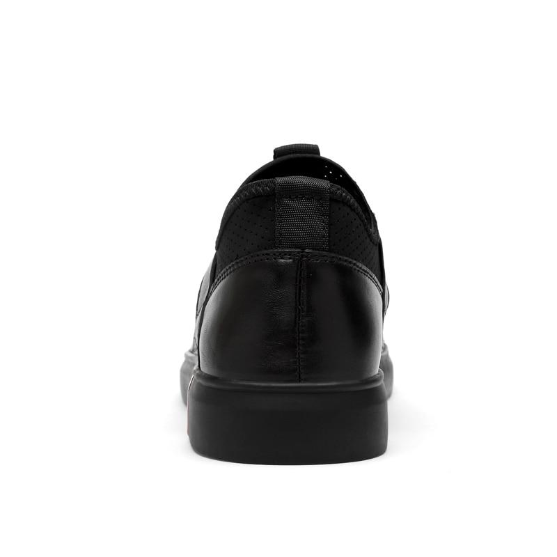 Տղամարդկանց պատահական կաշվե կոշիկներ - Տղամարդկանց կոշիկներ - Լուսանկար 4