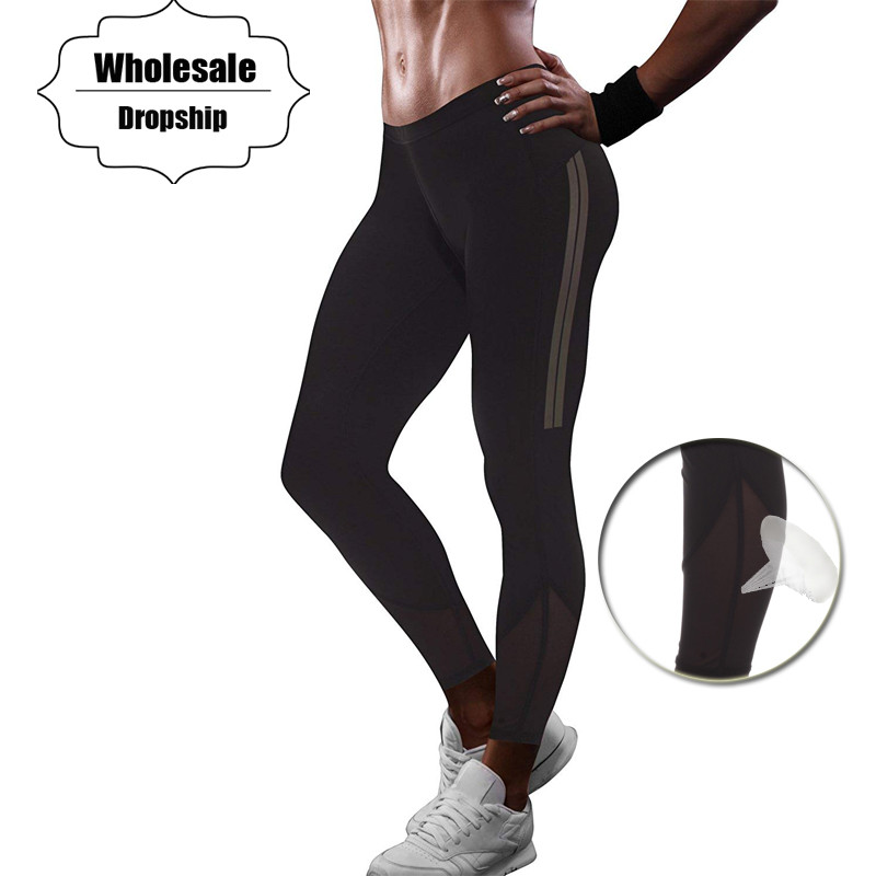 67206aebc1b NINGMI Hot Pant Women Tummy Control Panties Sweat Sauna Waist Trainer Butt  Lifter Body Shaper Trouser