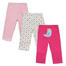 Mother Nest 3pcs/lot Cotton Baby Pants Girls Leggings PP Pants Trousers Infant Clothing Kids Clothes