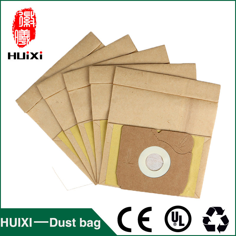 50mm Disposable paper dust bags and change bags with high efficiency of household vacuum cleaner for Z1550 Z1560 etc 18 pcs dust paper bags and vacuum cleaner filter change bags with high quality of vacuum cleaner parts for vk130 vk131 etc