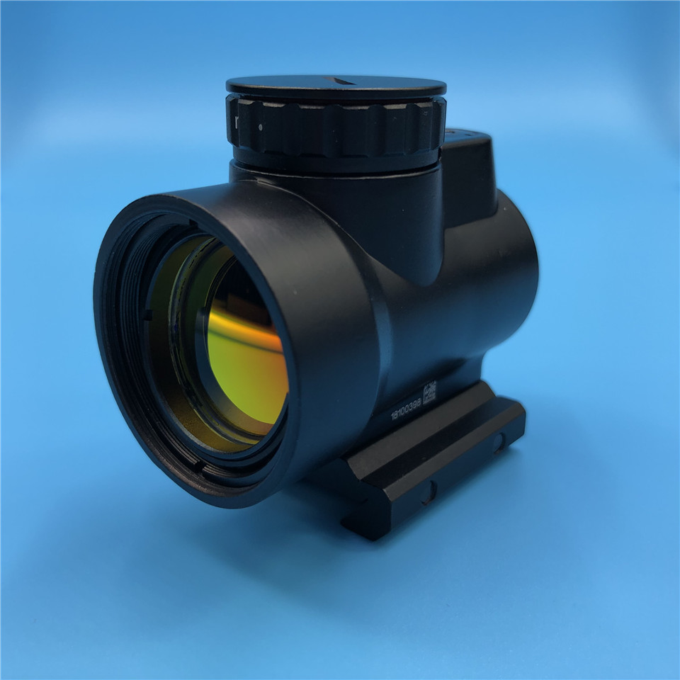 Trijicon MRO Style Red Dot Sight Riflescope with Low Picatinny Rail Mount Base Hunting Shooting Reflex