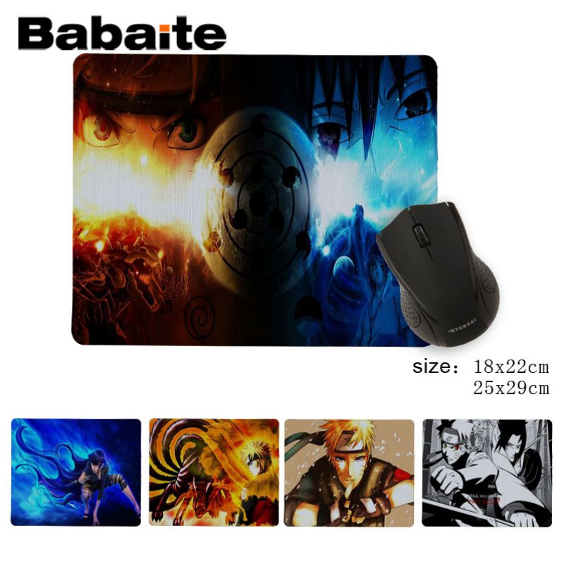 Babaite 2018 New Naruto Hyuuga Hinata Unique Desktop Pad Game Mousepad Personality Customized High Quality Mouse pad image