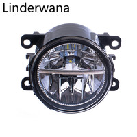 For Mitsubishi L200 OUTLANDER 2 PAJERO 4 GALANT Grandis 2003 2012 LED Fog Lights Car Styling