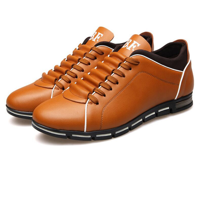 2016 New England men's trend of men's shoes casual shoes leather shoes breathable four male
