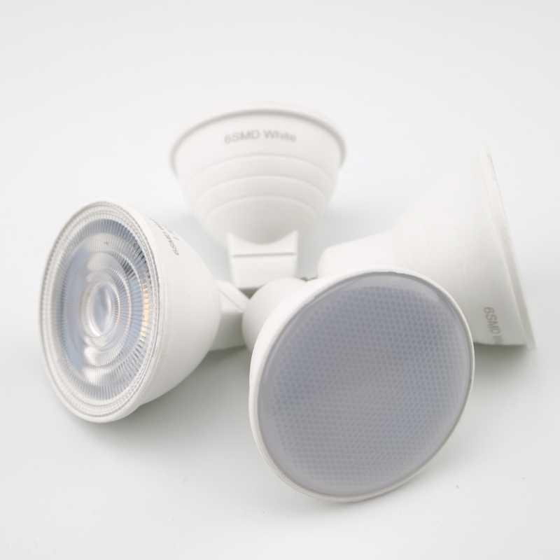 GU10 MR16 Светодиодная лампа E27 E14 6 Вт 220 в угол луча 24 120 градусов Точечный светильник для дома энергосберегающий внутренний светильник лампа для настольной лампы