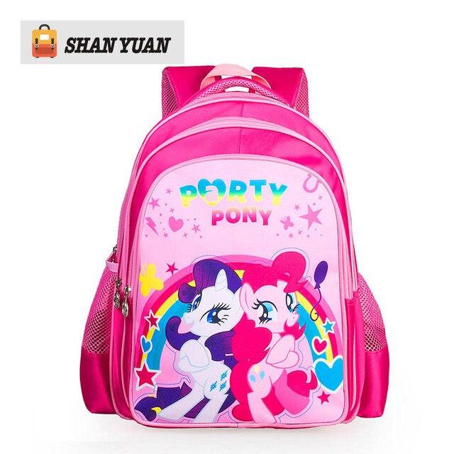 2016 lovely cartoon backpacks for little girl children backpack school bags for girls kids book bags mochilas escolar infantil