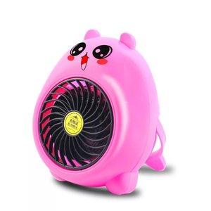 Cute Bear Mini Heater Fan Cart