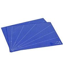 1 шт. A3 ПВХ Прямоугольный Коврик для резки сетка линия инструмент пластик 45 см* 30 см