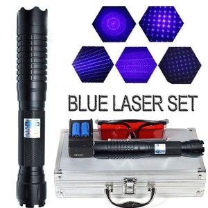 Burning Blue Laser Pointer Fla