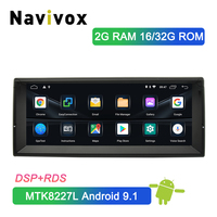 Navivox 10.25 Android 9.1 Car DVD Multimedia Player for BMW E39 5 Series 1996 2003 Car Radio GPS Navigation Head Unit With DSP
