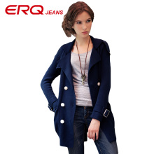 ERQ Women Shirts Fashion Tops Solid Knitwer Blouses Women Full Sleeve Blazer Sleevele Blouse Women Blusa Shirts Feminino 11831