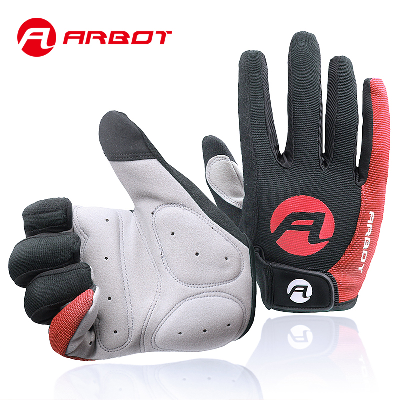 Men's Cycling Gloves Full Finger Touch Screen Mittens Guantes Ciclismo Tactical Glove Bicicleta Bicycle Motocross Men's Glove