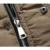 2017 Novos Homens Jaqueta de Inverno de Algodão Acolchoado Longo Grosso Quente Casual Masculino Com Capuz Jacket Brasão Tamanho M-3XL 135wy