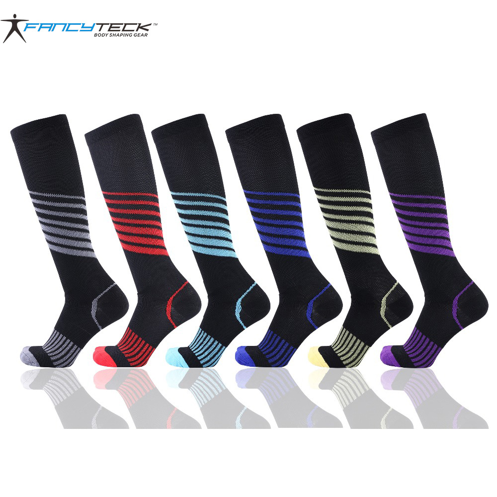 New Hot 3 Pairs Compression Socks Unisex Anti-Fatigue Compression Socks Foot Pain Relief Soft Magic Socks For Men Women