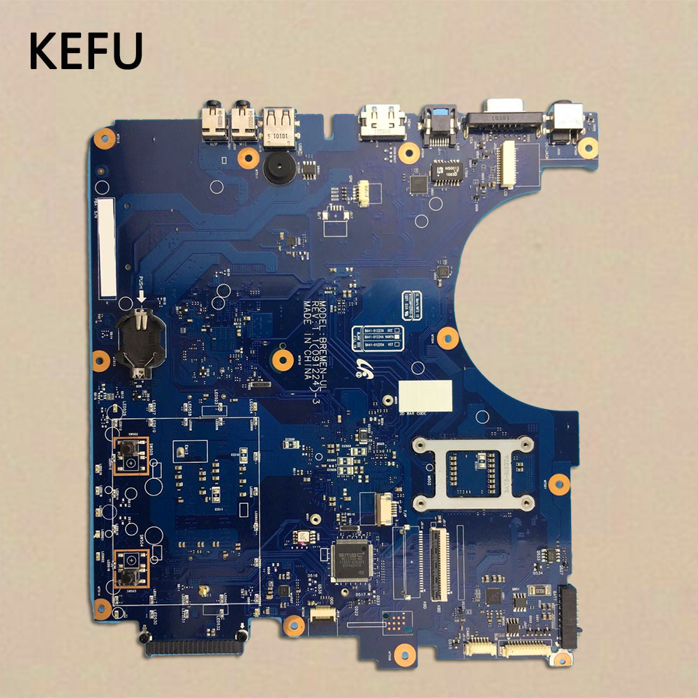 KEFU Laptop Motherboard For Samsung NP R530 R530 Motherboard BA41 01223A 100 tested fully work