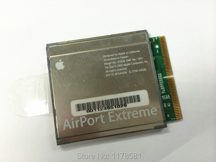 AirPort Extreme WiFi Card A1026 A1027 for APPLE iBook iMac PowerMac PowerBook G4 apple airport extreme