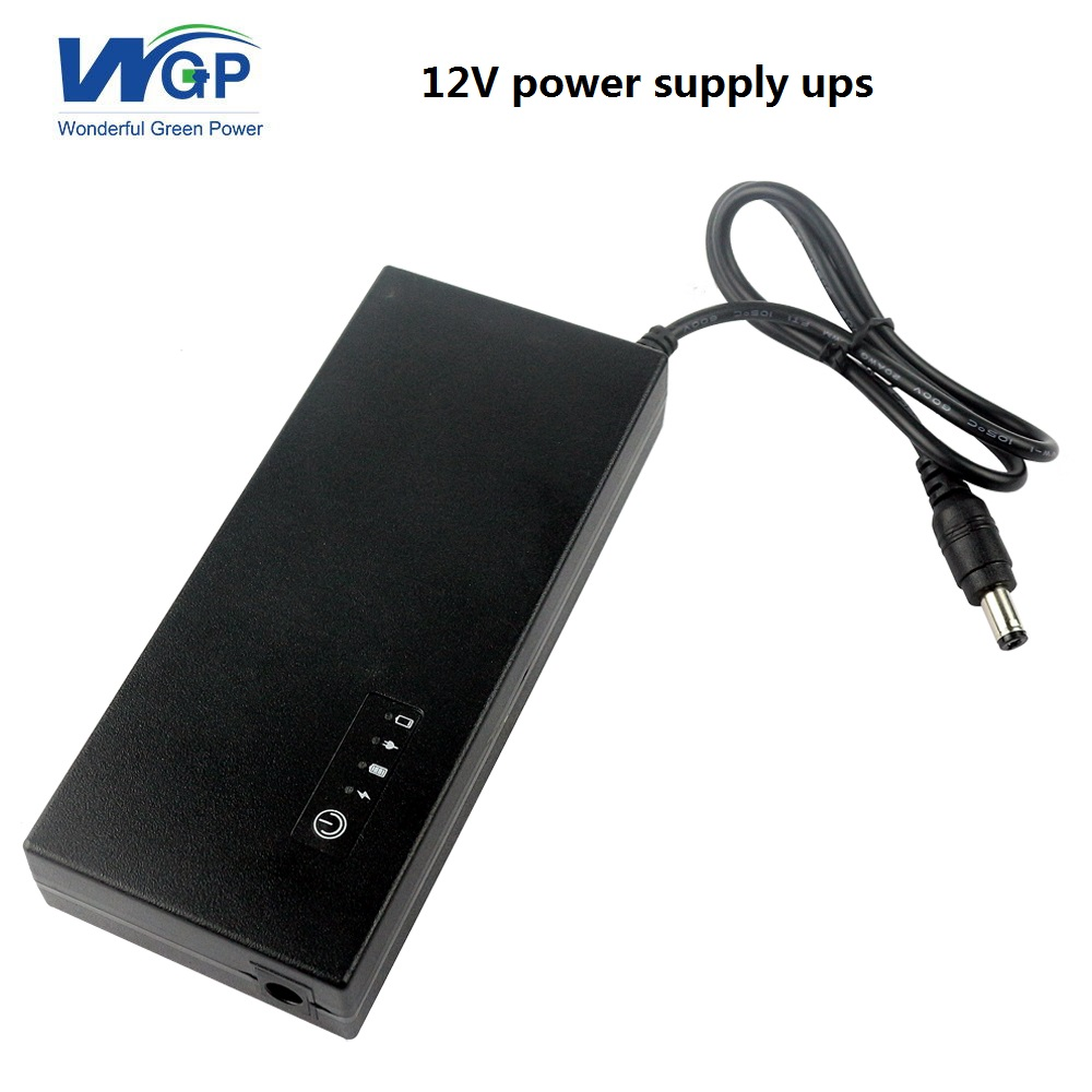 Home ups Uninterrupted Power Supply 12V 3A mini ups 12v dc ups battery backup for wifi router VDSL modem 12v 2a 22 2w ups uninterrupted power supply 111 x 60 x 26mm backup power mini battery for camera router