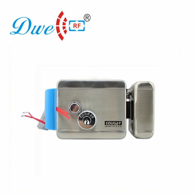 DWE CC RF Electric Lock 12V Stainless Steel Rfid Electronic Door Lock For Access Control System 788
