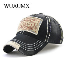 Wuaumx Brand Wholesale Retro Baseball Caps Men Cotton Sun Hat For Women Hip Hop k-pop Trucker Hat Unisex Snapback Cap Casquette new fashion brand casquette trucker hater snapback unisex leather baseball caps cappelli snapback hip hop hat for men women
