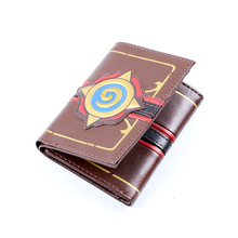 Ainiel Fashion Leather Hearthstone Heroes of Warcraft Card Wallet Package for Gift