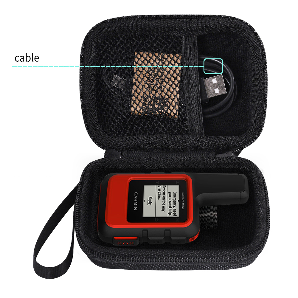 2019 Newest EVA Portable Bag Carrying Box Protect Pouch Hard Case For Garmin InReach Mini