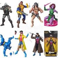 Marvel Legends 2019 X Men Wolverine Weapon X Beast Jubilee Forge Blink Skullbuster 6 Action Figure CALIBAN BAF Wave Toys Doll