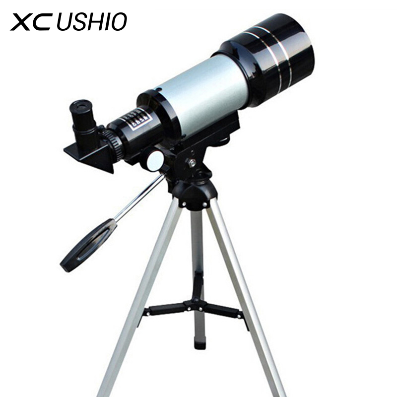 High Quality 150X Zoom HD Outdoor Monocular Space Astronomical Telescope With Portable Tripod Bird Animal Spotting Scope F30070 20 60x70 zoom spotting scope monocular outdoor telescope with portable tripod monoculares professional bird animal telescope