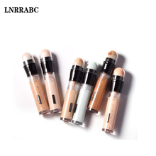 Hot Sale 6Colors Matte Oil-control Brighten Whitening Pores Firm Freckle Cover Foundation Concealer Pen топ curvy firm foundation