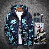 Ski Jacket Men Women Winter Waterproof Thermal Camouflage Snowboard Cycling Running Outdoor Sports Hiking Jackets Male