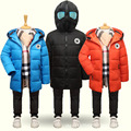 Children's Clothing Boys Winter Cotton-padded Jacket 2016 Down Cotton Wadded Jacket Thickening Boys Parka Thicken Hooded Coat