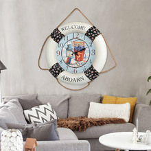 Retro style living room wall clock bar watch American style big clock wall clock Laitu