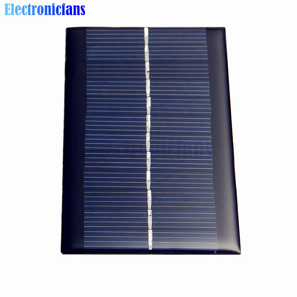 Mini 6v 1w Solar Panel Bank Solar Power Panel Module Diy Power For Light Battery Cell Phone Toy Chargers Portable Electronic Components & Supplies