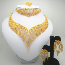 US $10.29 51% OFF|Fashion jewelry set Nigeria Dubai gold color African bead jewelry wedding jewelry set African Bridal Wedding Gifts-in Bridal Jewelry Sets from Jewelry & Accessories on Aliexpress.com | Alibaba Group