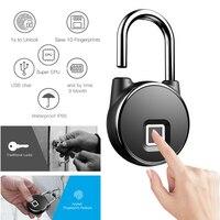 Fingerprint Lock door lock doorlock padlock electronic biometric fingerprint lock fingerprint lock door for house warehouse