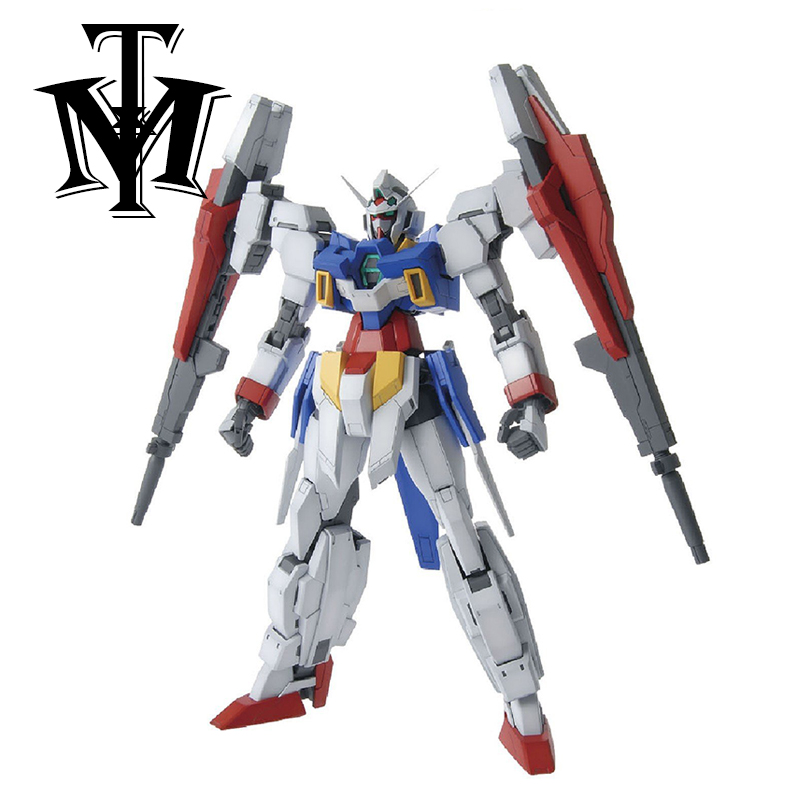 Anime Daban Variable Hobby MG Gundam Age-2 Double Bullet Model 1/100 Model Robot Action Figure Assembled Transformable Kids toys