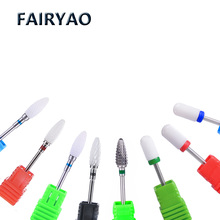 Hot Ceramic Nail Drill Bit Rotary Milling Cutter Manicure Machine Pedicure Art Tools Electric Nail Drill Accessories Cleaner