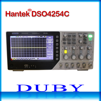 Hantek DSO4254C 4CH 1GS/เอส 250 เมกะเฮิร์ตซ์แบนด์วิดธ์ออสซิลโลสโคปแบบพกพายูเอสบีโฮสต์/อุปกรณ์