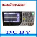 Hantek DSO4254C 4CH 1GS/s di frequenza di campionamento 250 mhz di larghezza di banda Oscilloscopio a memoria Digitale Integrata Portatile USB Host/Device