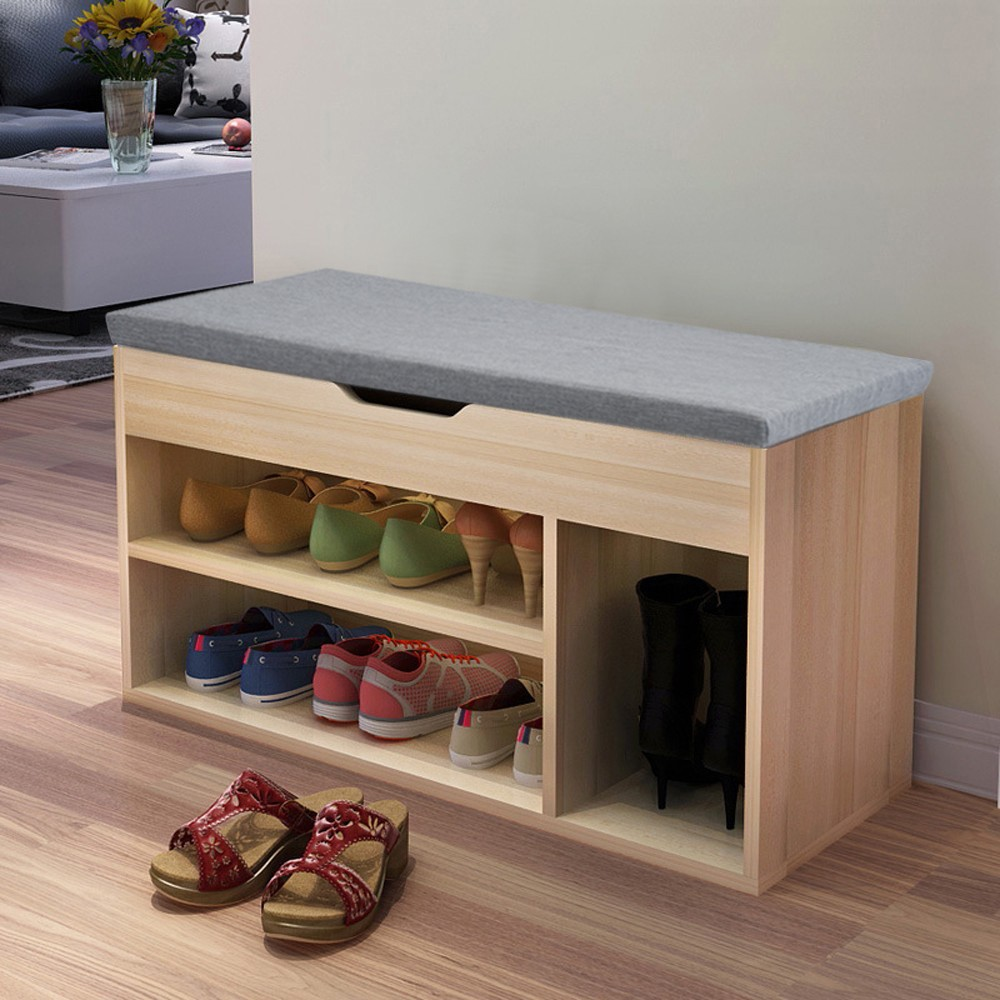 Us 40 46 8 Off Simple Modern Shoe Storage Stool Fashion Sofa Bench Change Rack Living Room Convenient Shoebox Shoes Organizer In