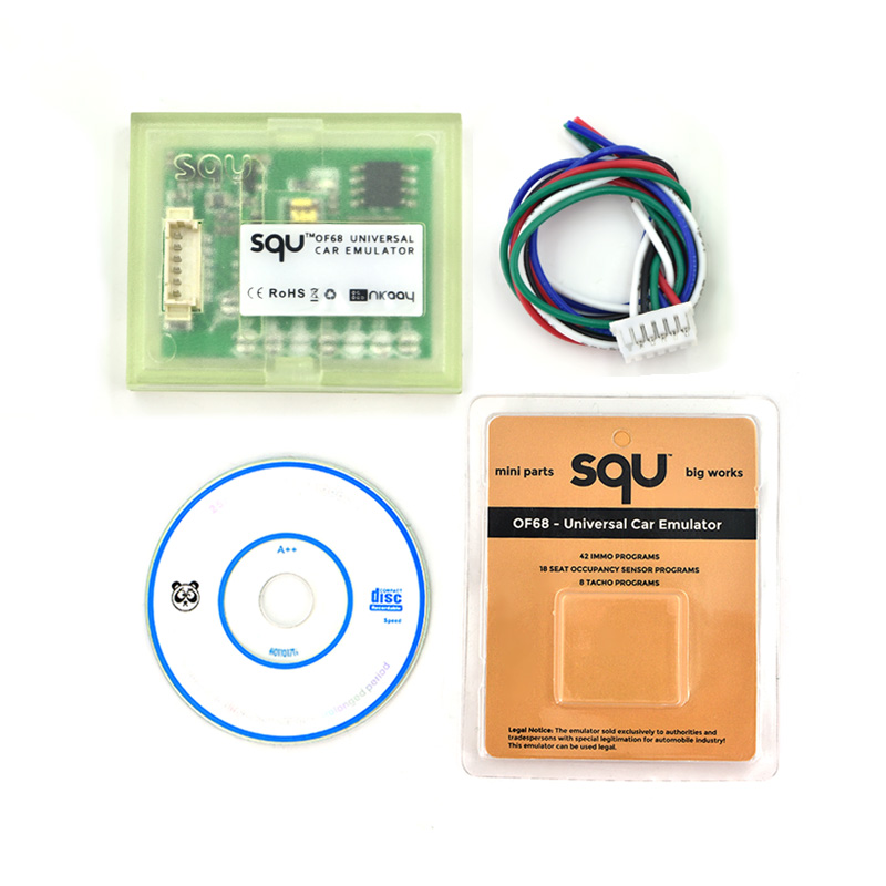 High quality SQU OF 68 Universal car emulator support for IMMO/Seat accupancy sensor/Tac ...