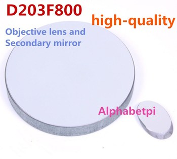 Free shipping High-quality D203F800 Newton telescope D203 F800 focal length 800mm reflection Objective lens+Secondary mirror
