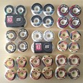 4pcs/Set Quality skateboarding wheels with Graphics Wheels Rodas de Skate Professional Plastic 50/52/54/56mm Skateboard Wheels