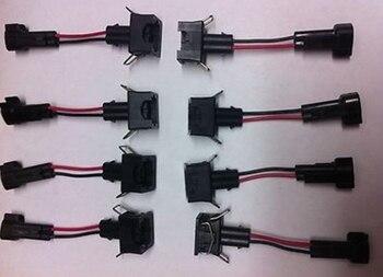 longyue 50pcs LS2 LS3 LS7 EV6 Engine wire Harness to LS1 LS6 LT1 EV1 Injector Adapters