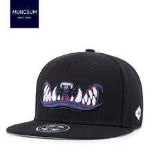 a980471b47f MUNGSUM Cayler Large Fang Baseball Cap Men And Woman Bones